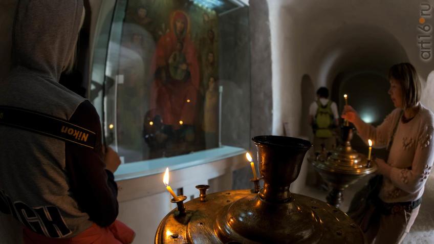 У Сицилийской иконы Божьей Матери::Дивногорье. 2017 сентябрь
