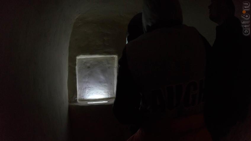 Обводная галерея пещерного комплекса в Больших Дивах::Дивногорье. 2017 сентябрь