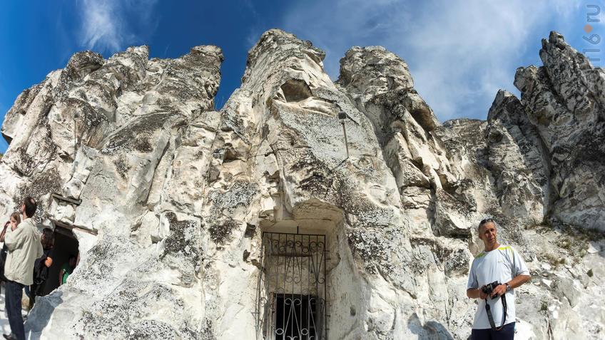 Пещерный комлекс а в Больших Дивах с церковью Сицилийской иконы Божией Матери::Дивногорье. 2017 сентябрь