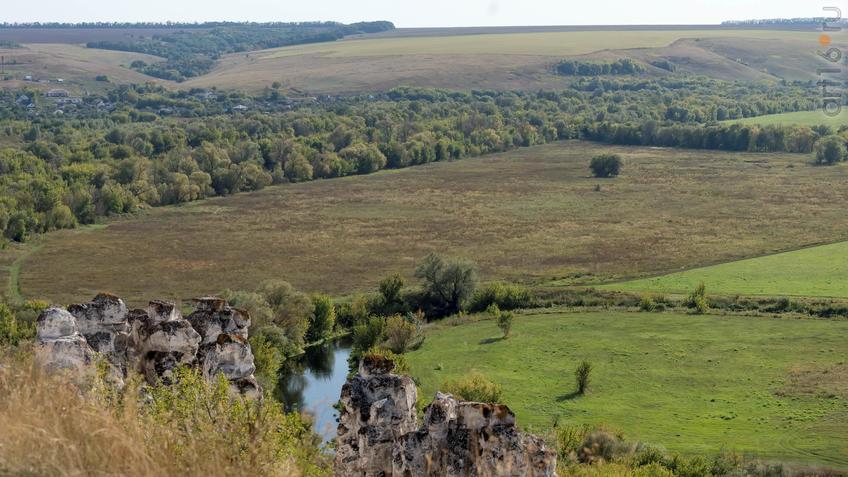 Большие Дивы и долина реки Тихая Сосна::Дивногорье. 2017 сентябрь