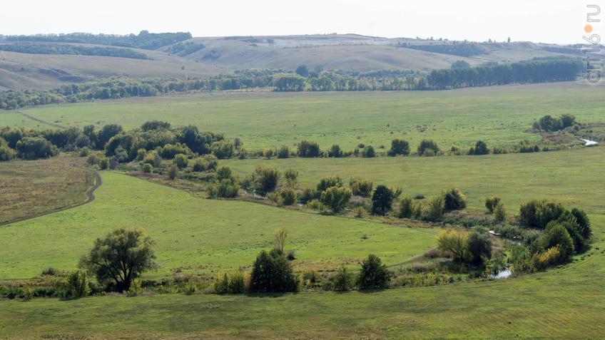 Долина реки Тихая Сосна::Дивногорье. 2017 сентябрь