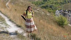 Сунгатова Елена на плато Дивногорье