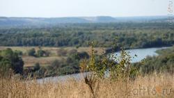 Дивногорье. Вид с плато на долину реки Тихая Сосна