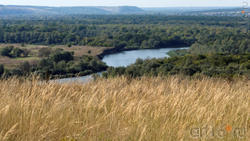Дивногорье. Вид с плато