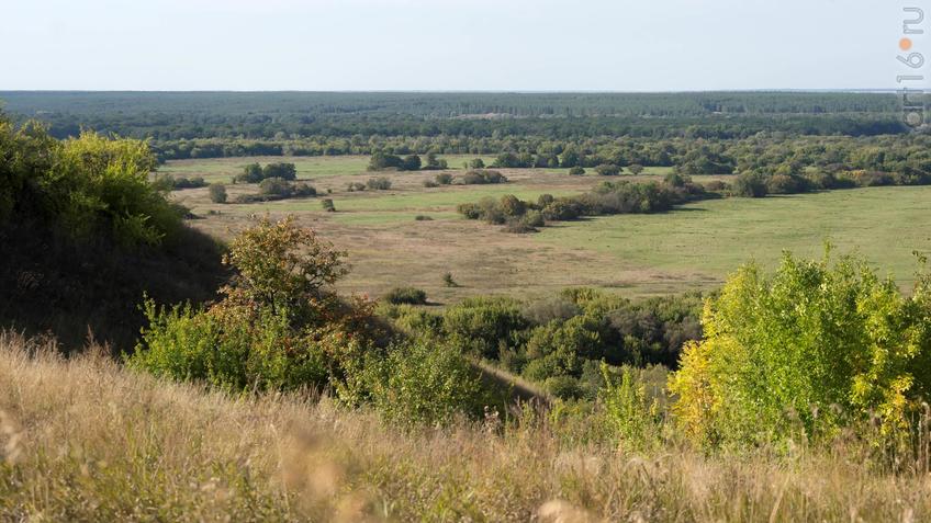 Вид с плато на долину::Дивногорье. 2017 сентябрь