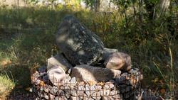 Морен. Фрагмент геолого-палеонтологической экспозиции