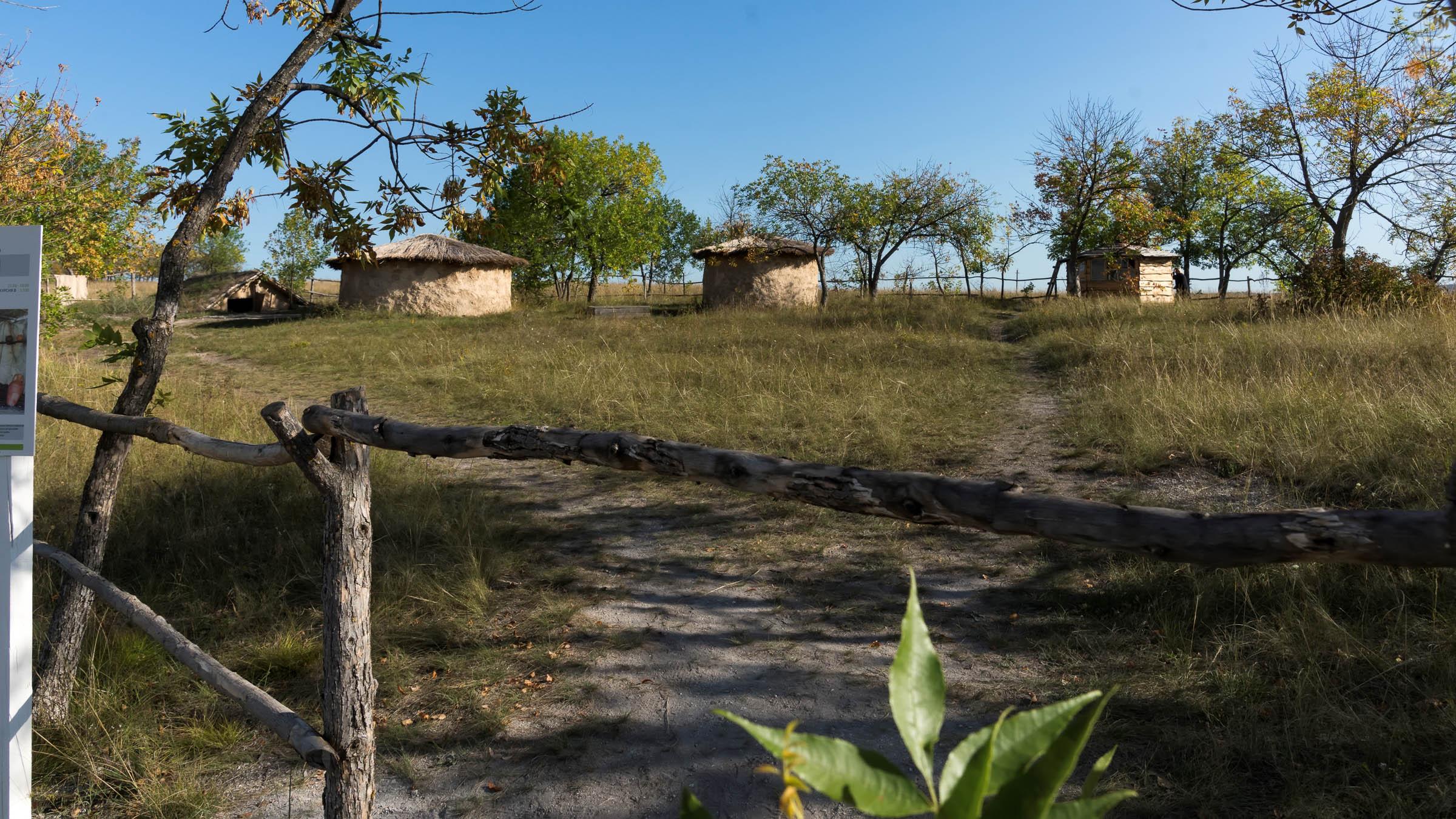 Археологический парк ʺОт кочевий к  городамʺ::Дивногорье. 2017 сентябрь
