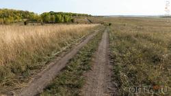 Дорога через Дивногорскую степь