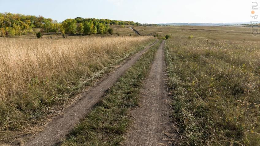 Дорога через Дивногорскую степь::Дивногорье. 2017 сентябрь