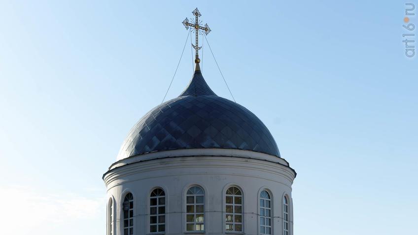 Купол Свято-Успенского Соборного храма в честь Успения Божией Матери::Дивногорье. 2017 сентябрь