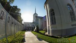 В Дивногорской Успенском мужском монастыре