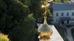 Маковка церкви Дивногорского Успенского мужского монастыря