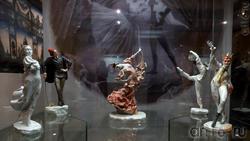 Скульптура ''Г.С.Улановой в роли Тащ-Хоа в балете С.Прокофьева ''Красный цветок''''