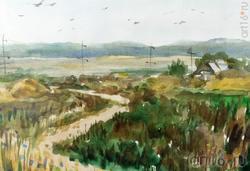 Татьяна Пашагина «Сельский пейзаж»