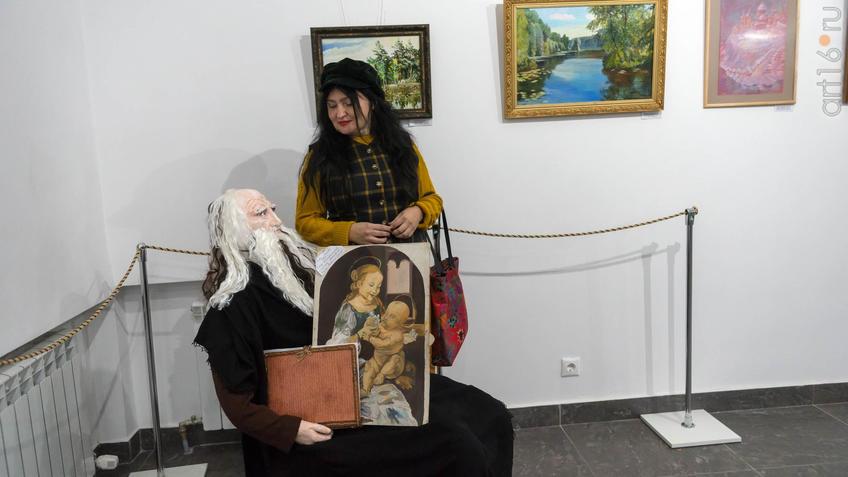 ::Выставка картин к 15-летию казанского отделения ПСХ СНГ