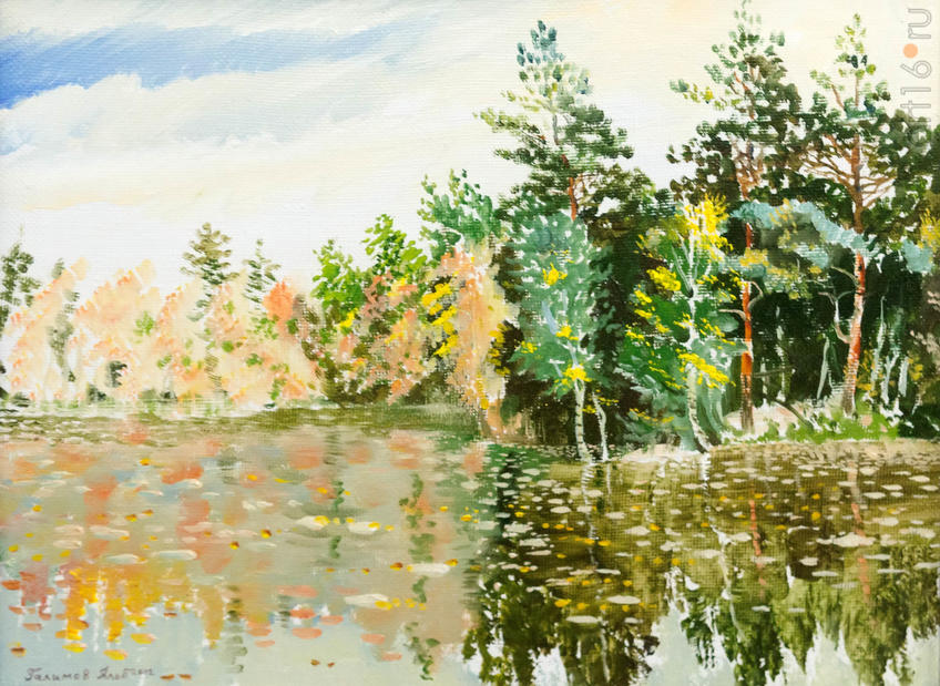 Альберт Галимов «Медь дубов»::Выставка картин к 15-летию казанского отделения ПСХ СНГ