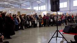 Народ  собрался на презентации культурных программ