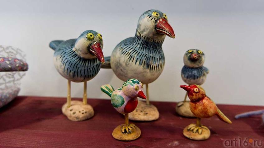 Фото №93738. Птицы. Керамика. Нина Кузьминых