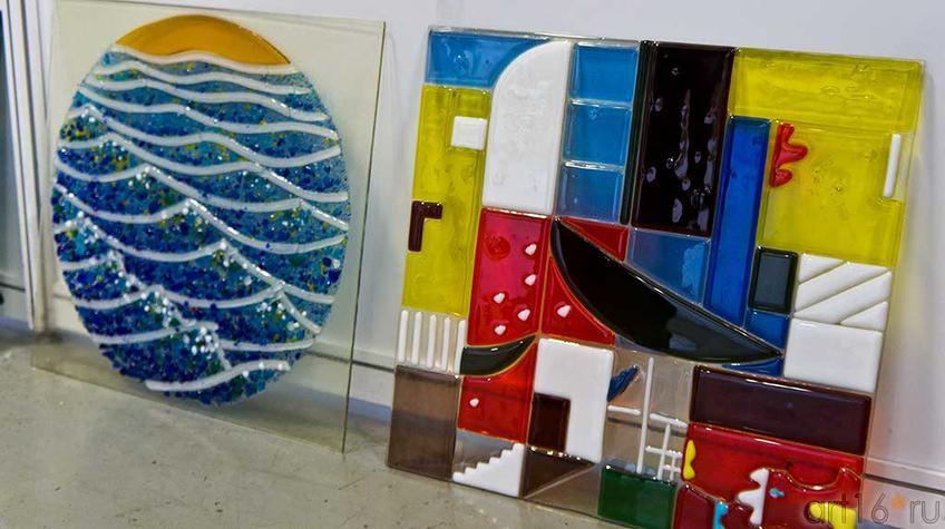 Панно из цветного стекла. Камиль Акманов (Бугульма)::Арт-галерея, Казань — 2012