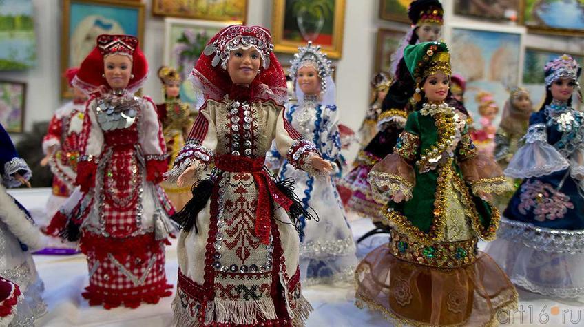 Фото №93830. Куклы в национальных костюмах. Мадина Махмутова