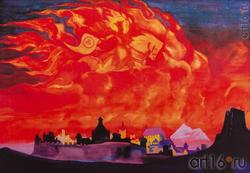 Н.К. РЕРИХ. «СВЯТАЯ СОФИЯ-ПРЕМУДРОСТЬ». 1932 (репродукция)