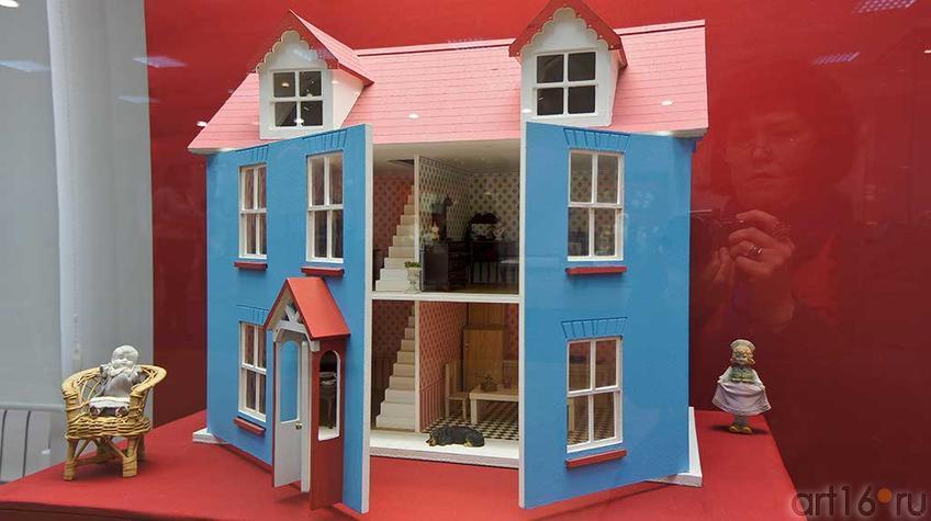 Кукольный дом. Россия, нач. XX в./All-bisour doll, германия, кон. XIX, фарфор/ Неизвестный производитель, Герм. сер XX,фар.::Та самая кукла