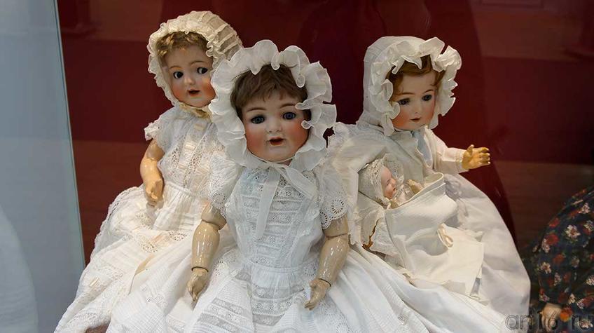1,2, 3, Франция, нач. XX фарфор;::Та самая кукла