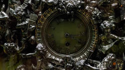 Часы каминные Фаберже