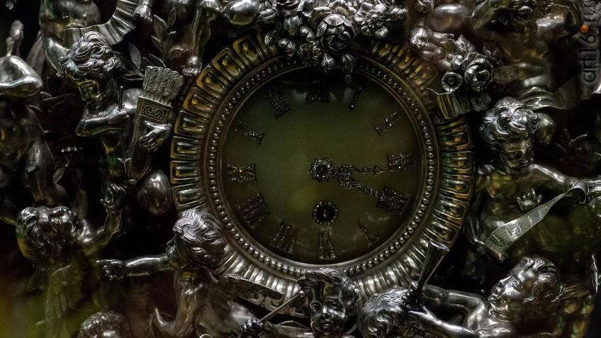 Часы каминные Фаберже::«Царские дары» из собрания Эрмитажа. Казань 2018