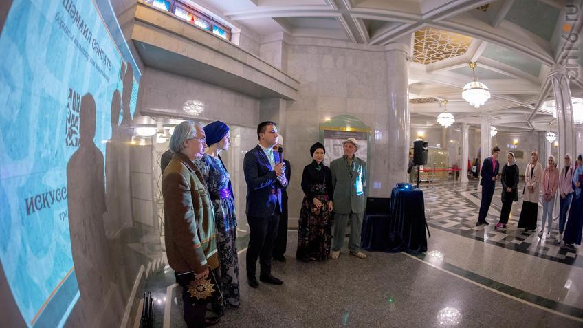 Фото №943226. Открытие выставки «Искусство шамаиля: традиции и новации»