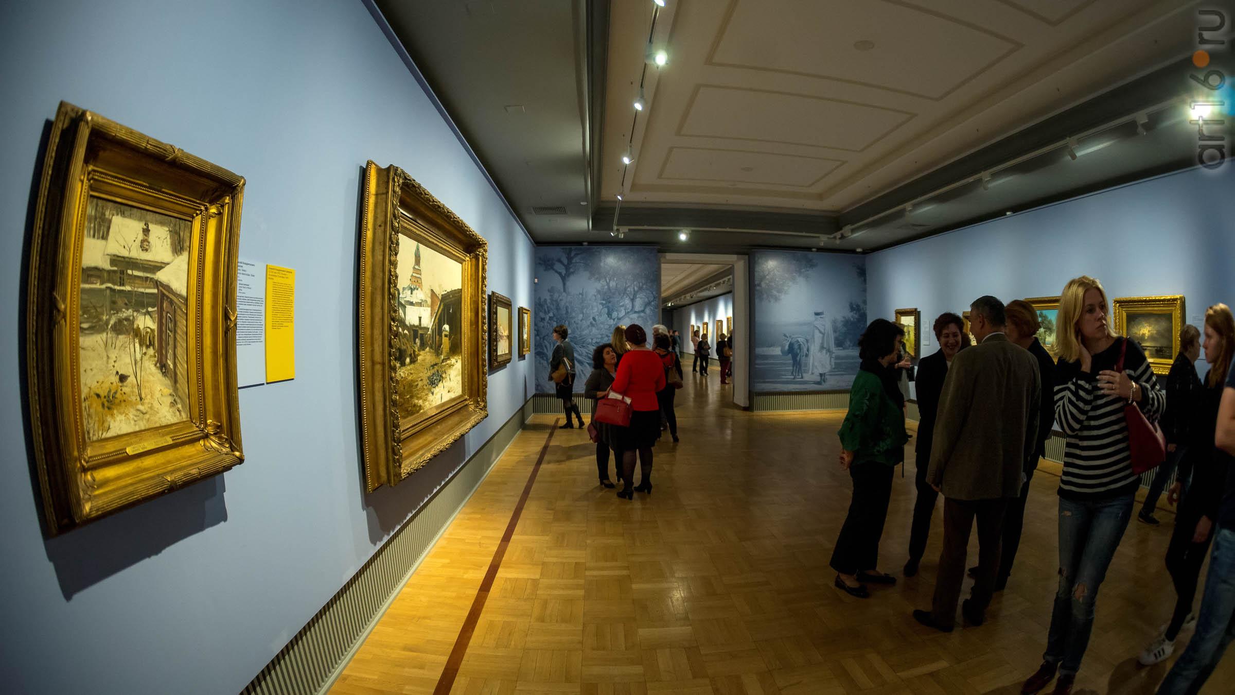 """::""""Передвижники: 1871-1902. Из собрания Третьяковской галереи"""""""