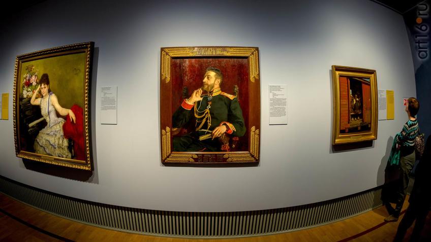 Фото №943516. И.Е.Репин. Портрет Великого князя Константина Константиновича. 1891