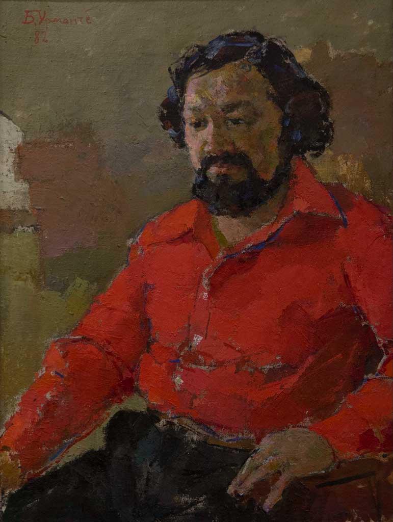Фото №94408. Портрет А.А.Абзгильдина. 1982. Б.И.Урманче. 1897-1990