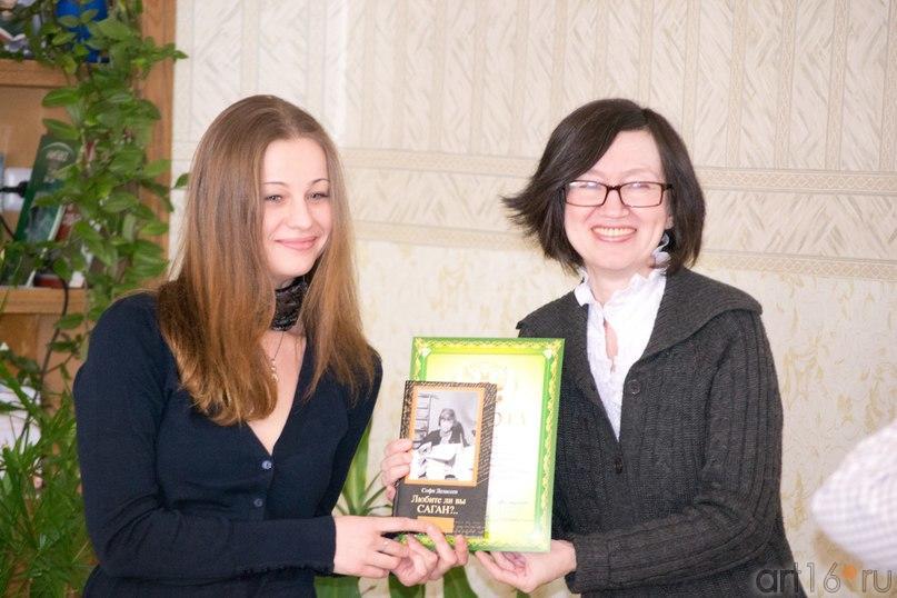 Арина Журавлёва, Наиля Ахунова::Фото для статей