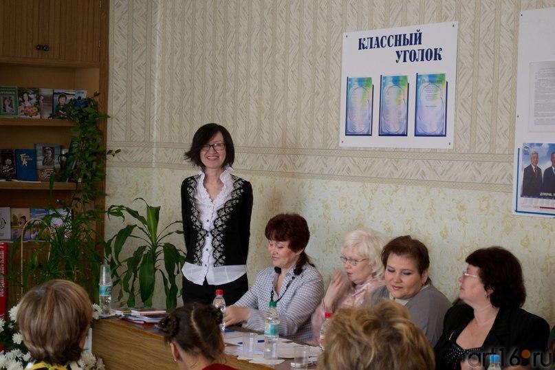 Жюри конкурса во главе с председателем, Наилей Гарифзяновной Ахуновой::Фото для статей