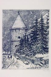 Юго-западная башня. 1976-1978. Мавровская Магдалина