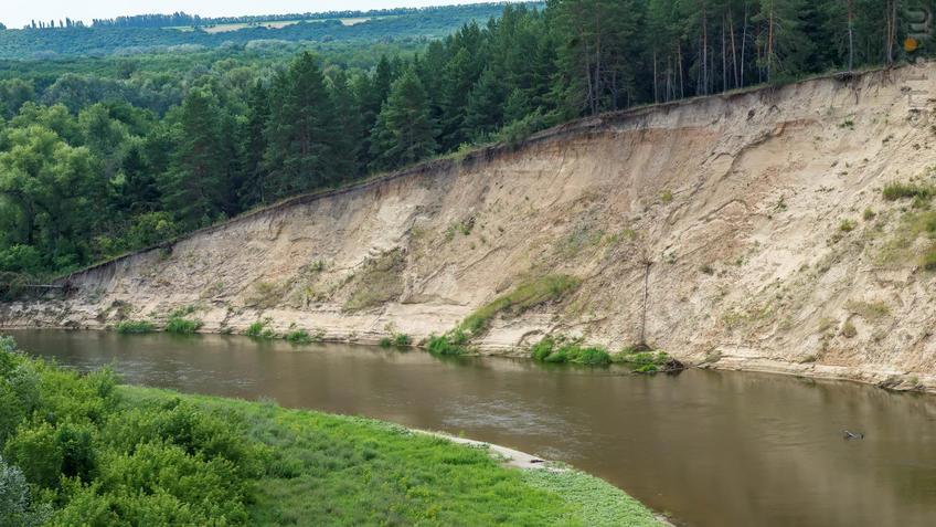 Река Хопер, Тарасова гора, Балашов, Саратовская область::2018