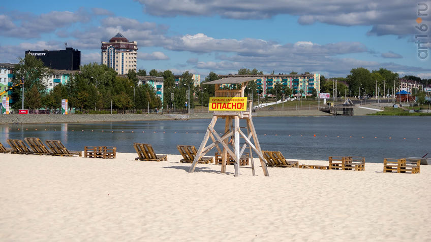 Фото №945521. Пляж, но купание запрещено. Опасно.
