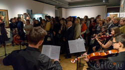 Открытие выставки ''Искусство портрета''