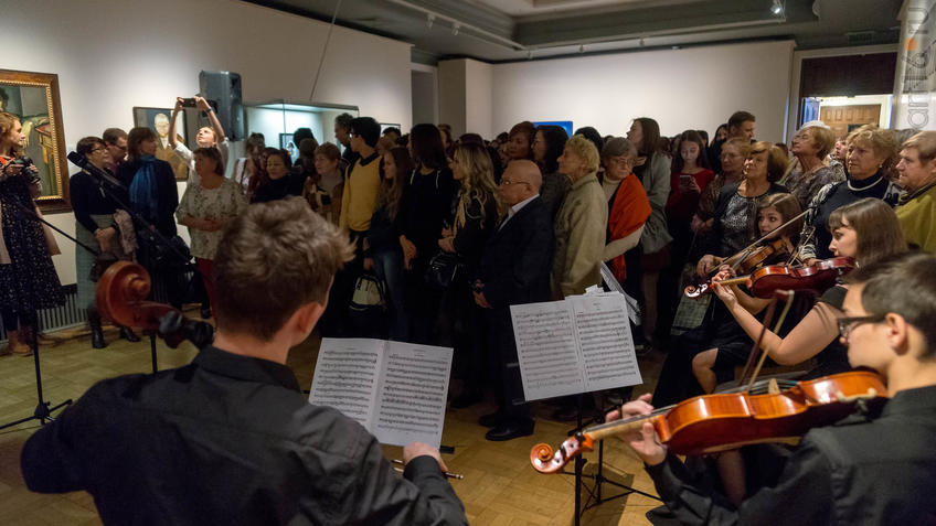 Открытие выставки ʺИскусство портретаʺ::Искусство портрета