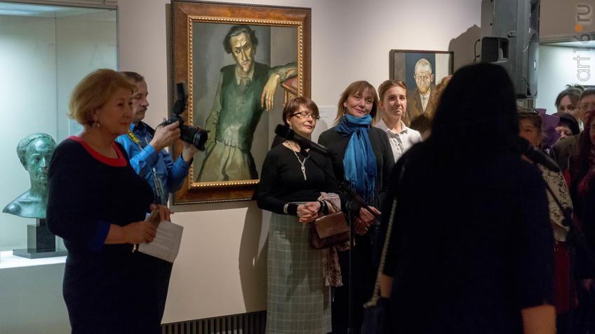 Фото №946588. Открытие выставки ''Искусство портрета''