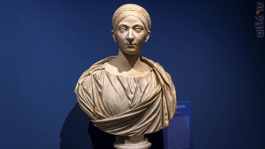 Портрет римской дамы (возможно, Констанции)::Искусство портрета
