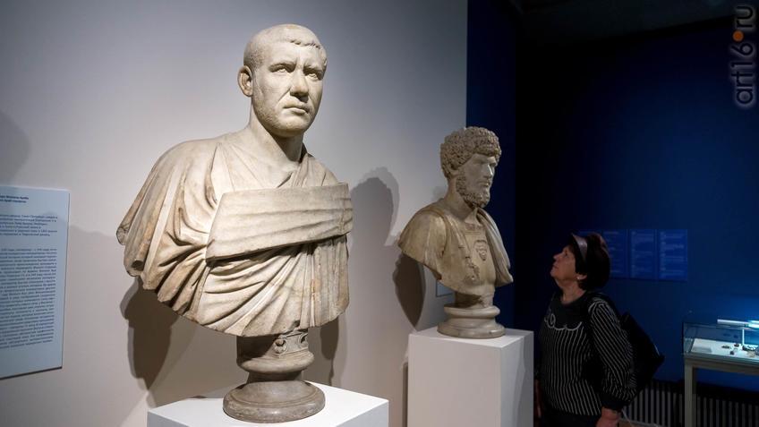 Портрет императора Филиппа Араба::Искусство портрета