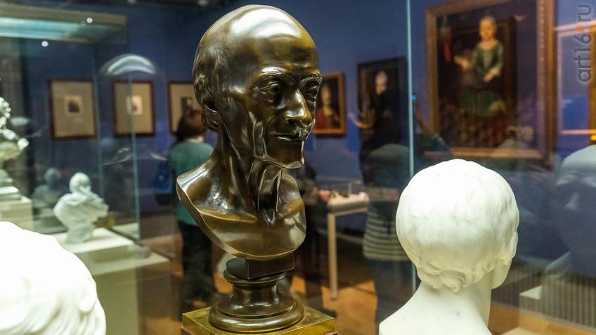 Жан-Антуан Гудон 1741, Версаль - 1828, Париж Портрет Вольтера::Искусство портрета