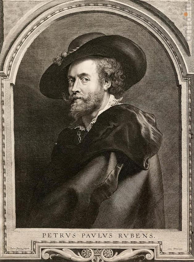 Фото №946748. Пауль Понтиус 1603, Антверпен - 1658,там же АВТОПОРТРЕТ ПИТЕРА ПАУЛЯ РУБЕНСА 1630