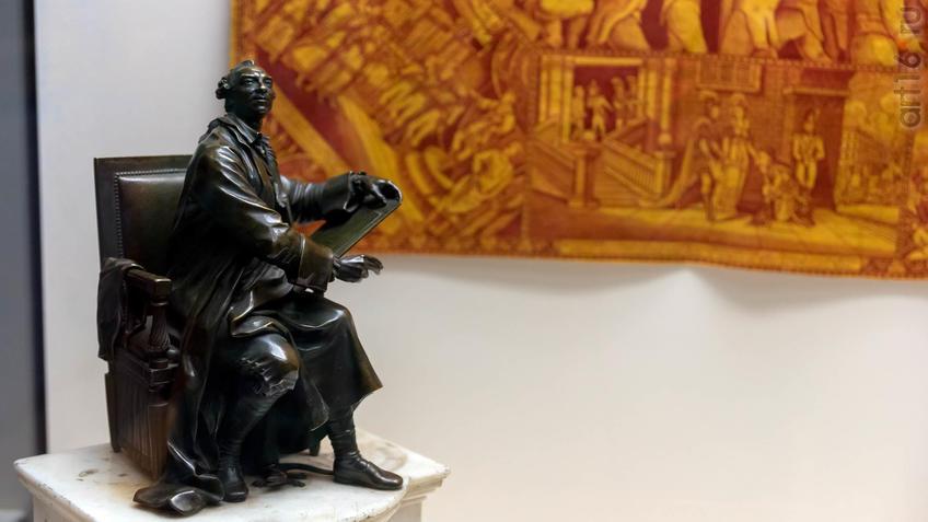 Огюстен Пажу (с оригинала) 1730, Париж - 1809, Париж Пьер-Филипп Томир 1751, Париж - 1843::Искусство портрета