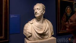 Луиджи Бьенеме 1795, Каррара - 1879, Рим, ПОРТРЕТ ИМПЕРАТОРА НИКОЛАЯ I