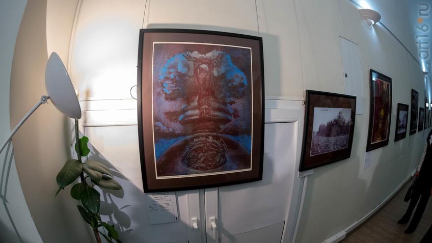 Боль о нерожденных. 1983::Надир Альмеев. Выставка «Колокола Хиросимы»