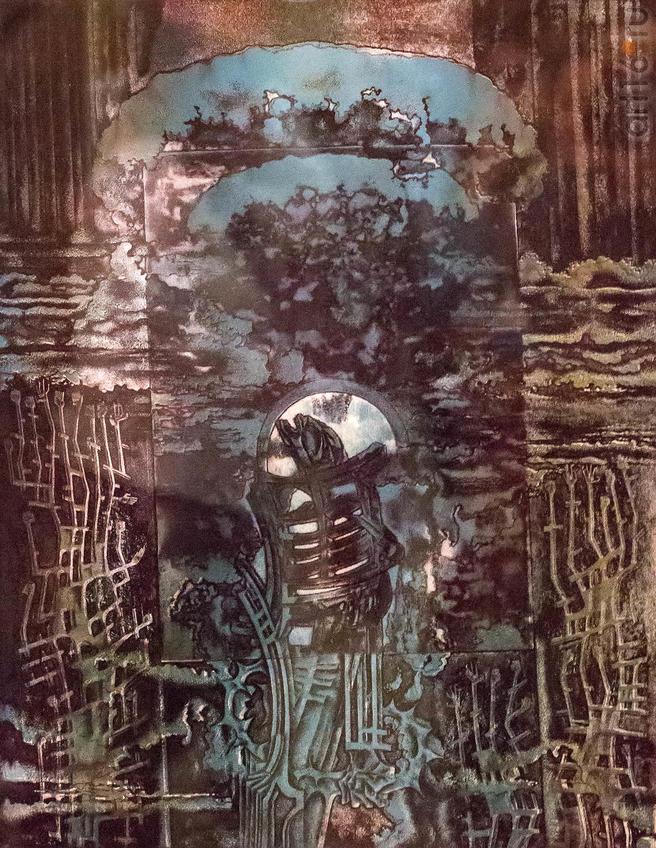 Протянуты к Небу. 1983::Надир Альмеев. Выставка «Колокола Хиросимы»