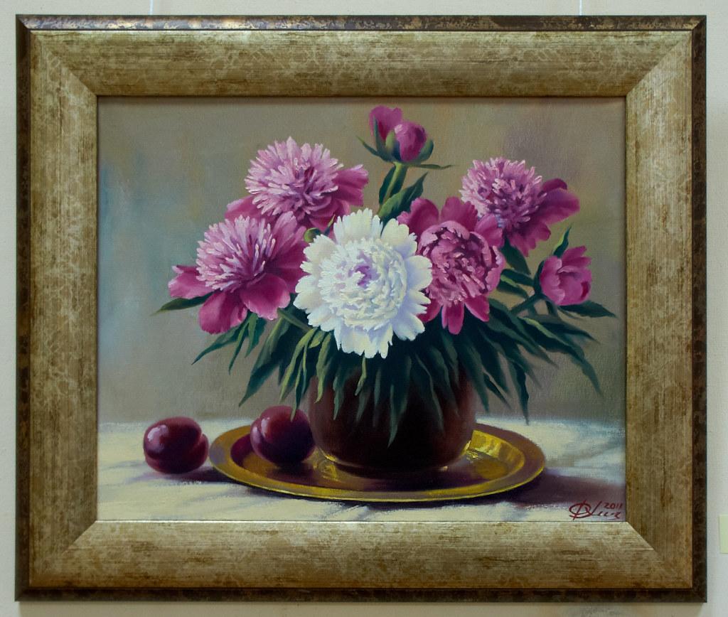 Фото №94913. Пионы. 2011. Хасьянова Ф.Ш., 1952, Казань